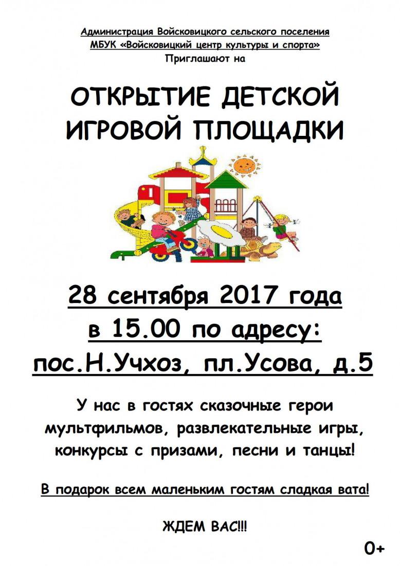 Афиша Детская площадка 2017_1